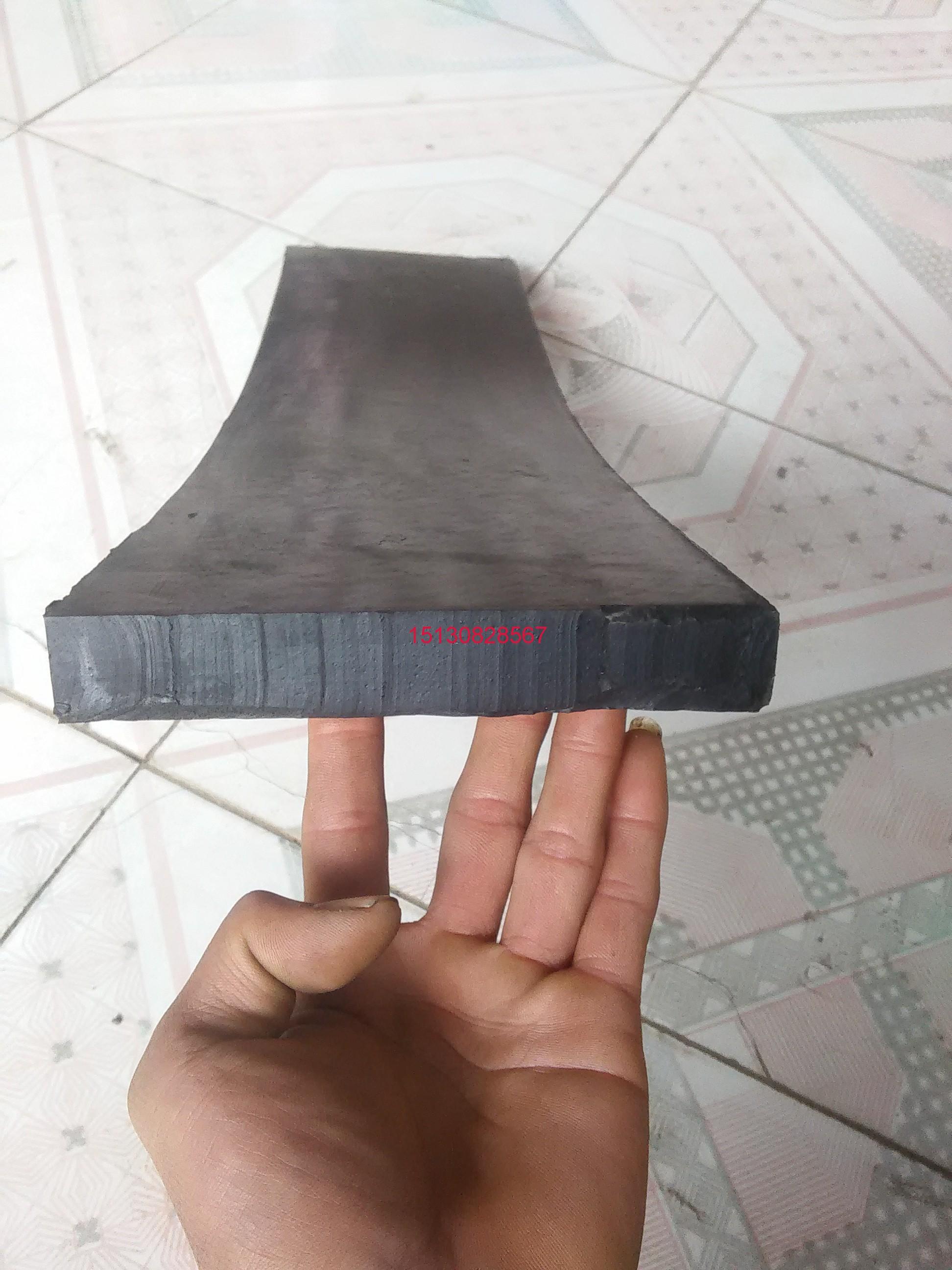平板止水闸门底水封侧水封垫板I型H型橡胶止水带倒角平板平板止水带150mm乘25mm
